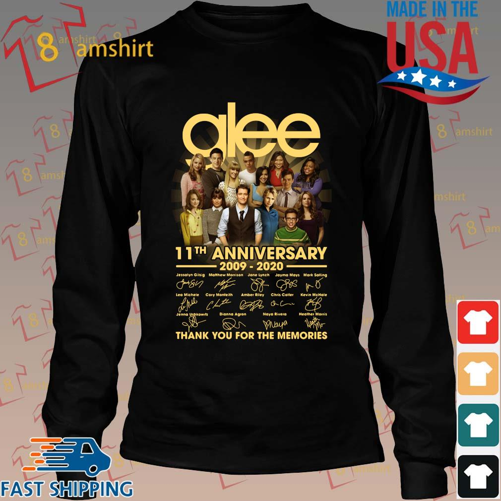 Glee 11th anniversary 2009 2020 signatures thank you for the memories s Long den