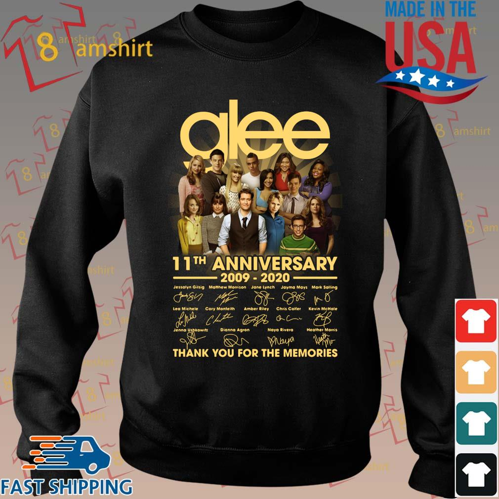 Glee 11th anniversary 2009 2020 signatures thank you for the memories s Sweater den