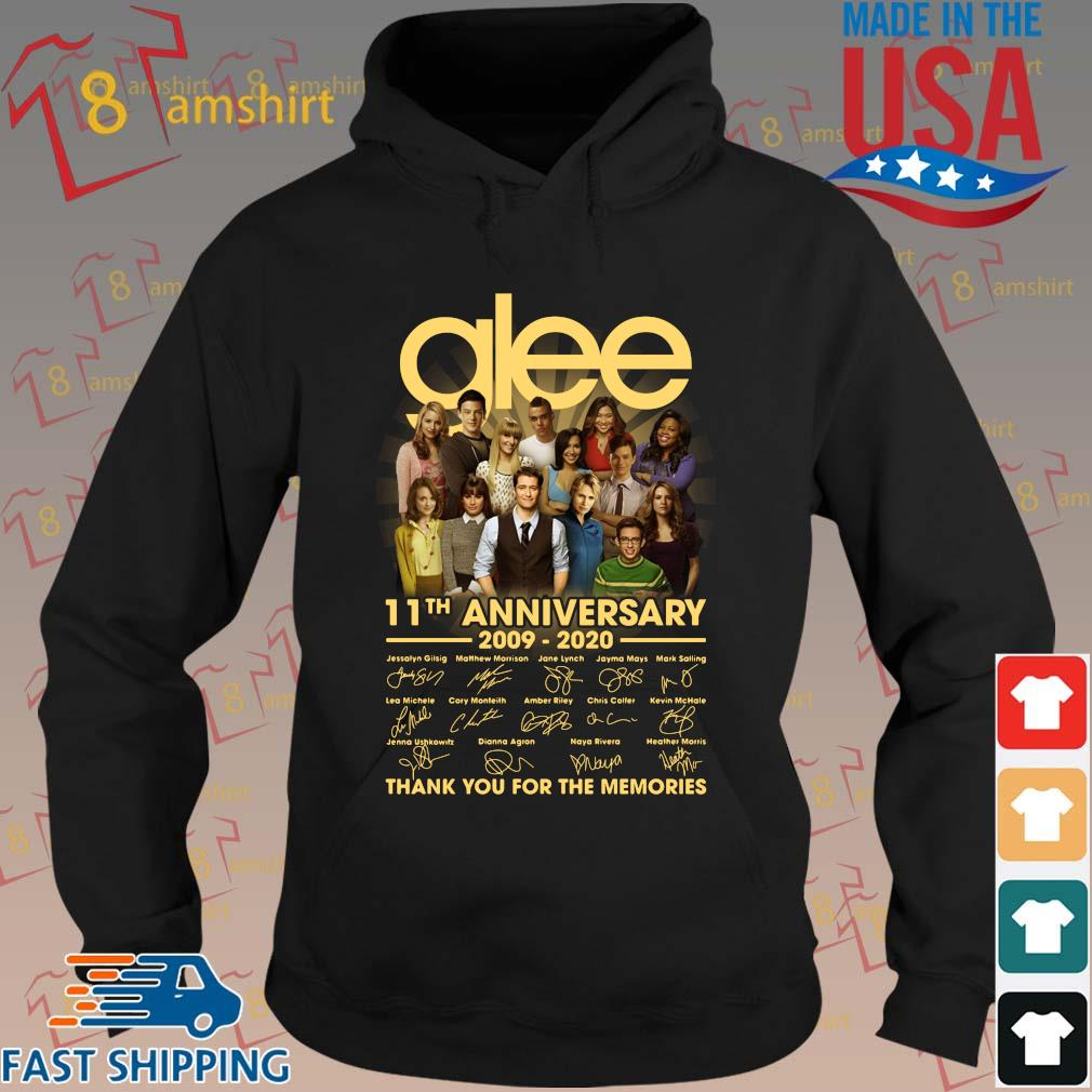 Glee 11th anniversary 2009 2020 signatures thank you for the memories s hoodie den