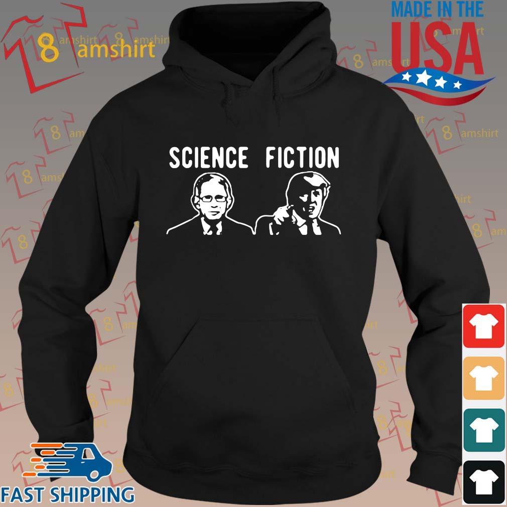 Science fiction Fauci vs Trump s hoodie den