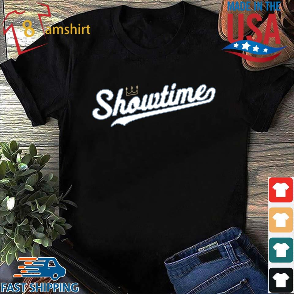 Showtime baseball Kansas city tee shirt