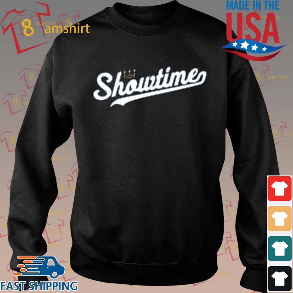 Showtime baseball Kansas city tee s Sweater den