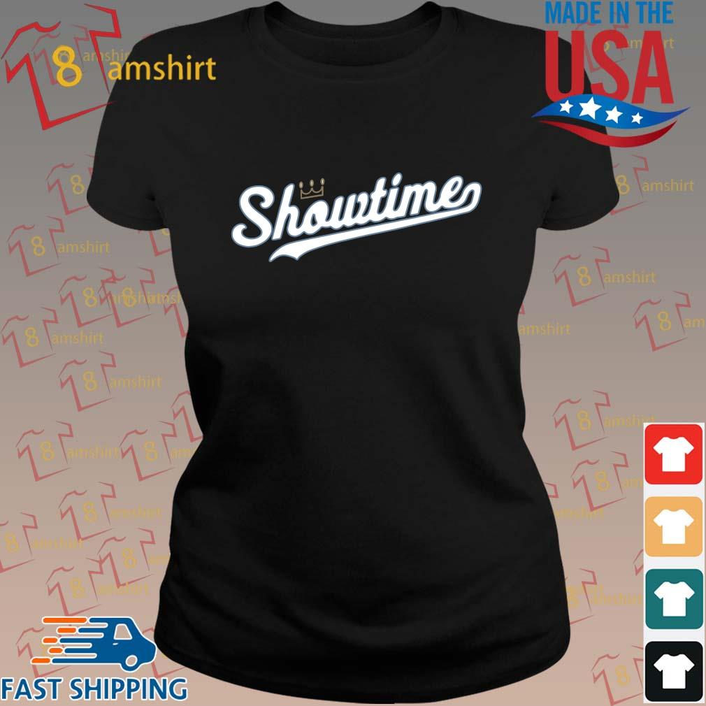 Showtime baseball Kansas city tee s ladies den
