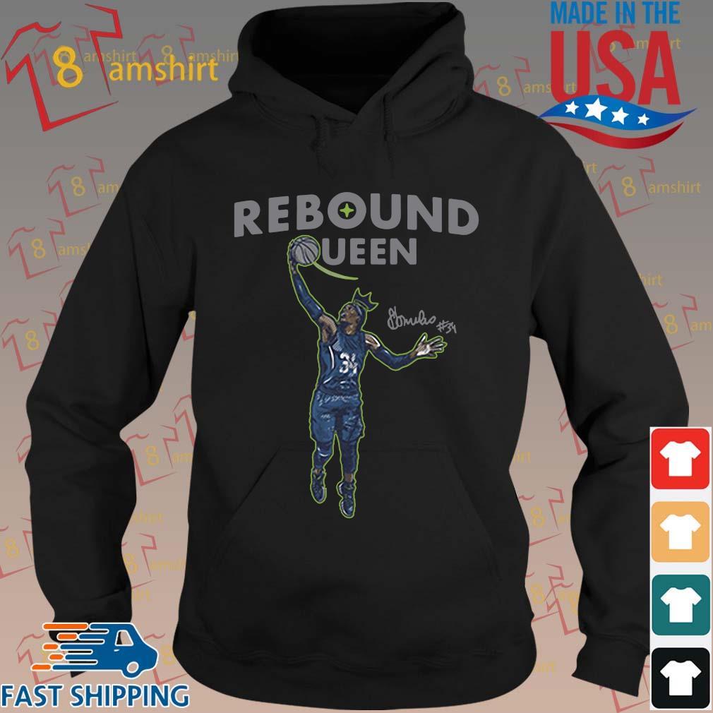 Sylvia Fowles rebound queen s hoodie den