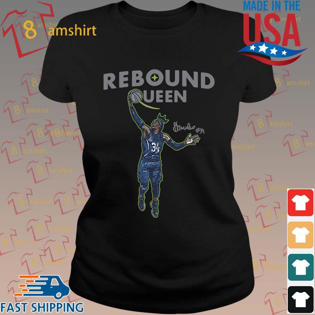 Sylvia Fowles rebound queen s ladies den