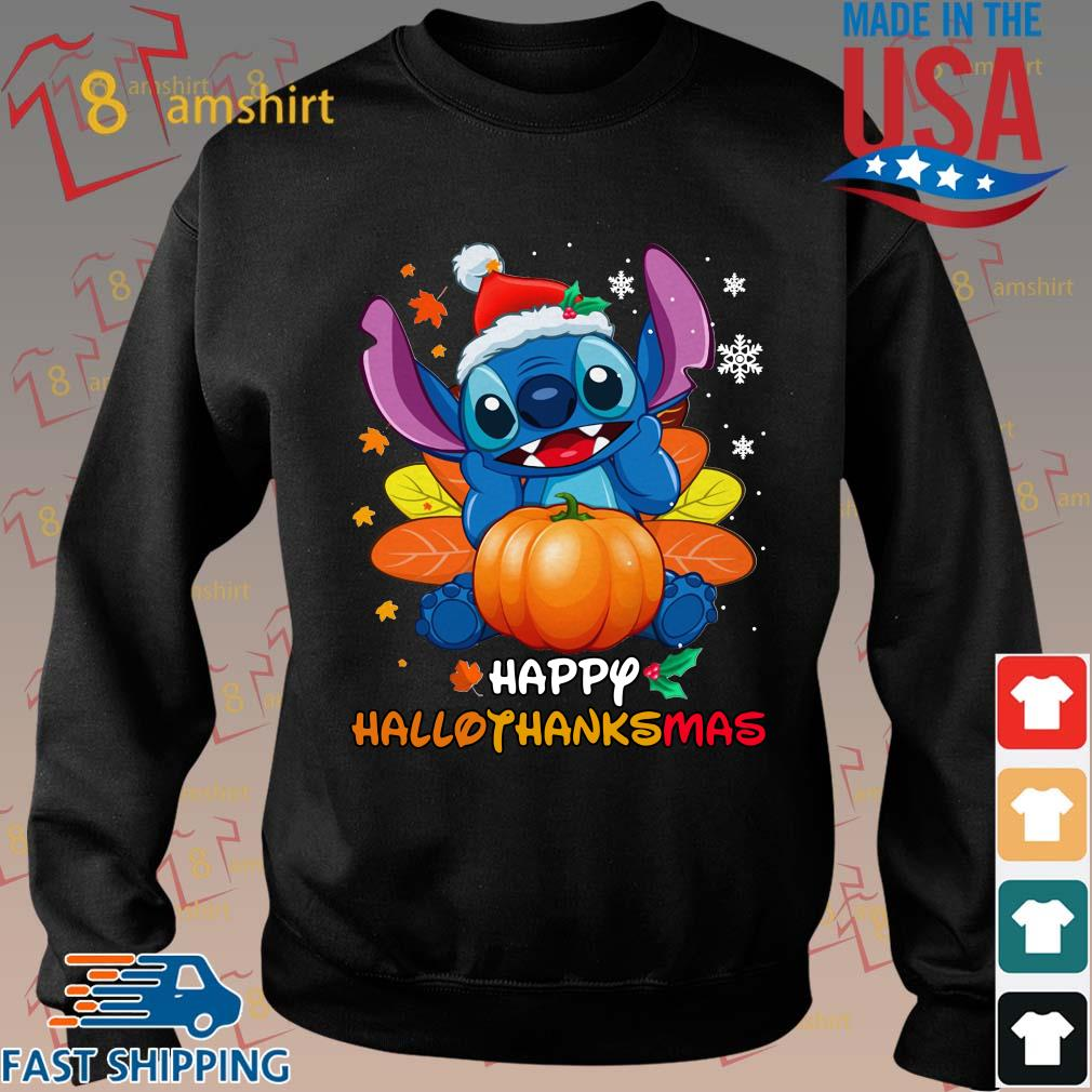 Stitch pumpkin happy hallothanksmas s Sweater den