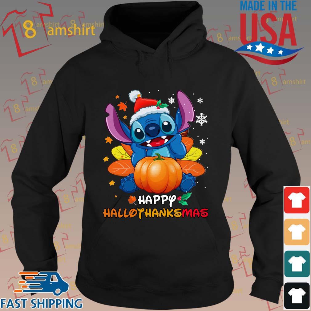 Stitch pumpkin happy hallothanksmas s hoodie den