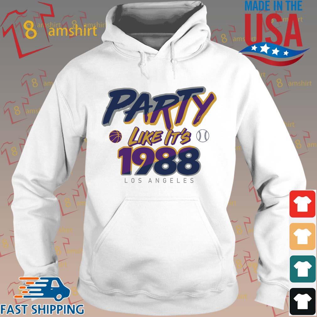Los Angeles Baseball Party Like It's 1988 Shirt Hoodie trang