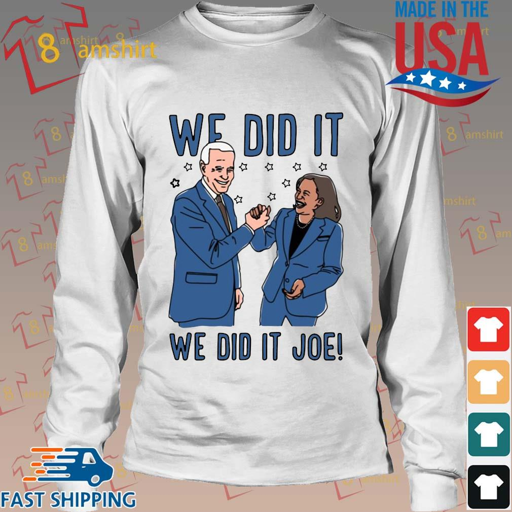 Official We did it we did Joe s Long trang