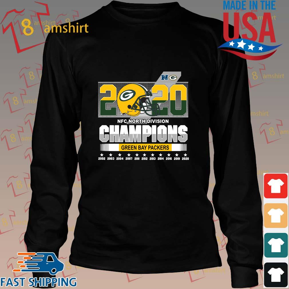 2020 NFC North Division Champions Green Bay Packers 2002-2020 s Long den