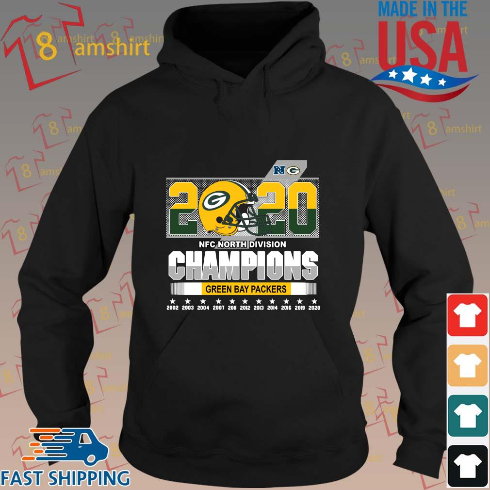 2020 NFC North Division Champions Green Bay Packers 2002-2020 s hoodie den