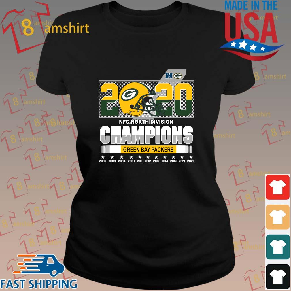 2020 NFC North Division Champions Green Bay Packers 2002-2020 s ladies den