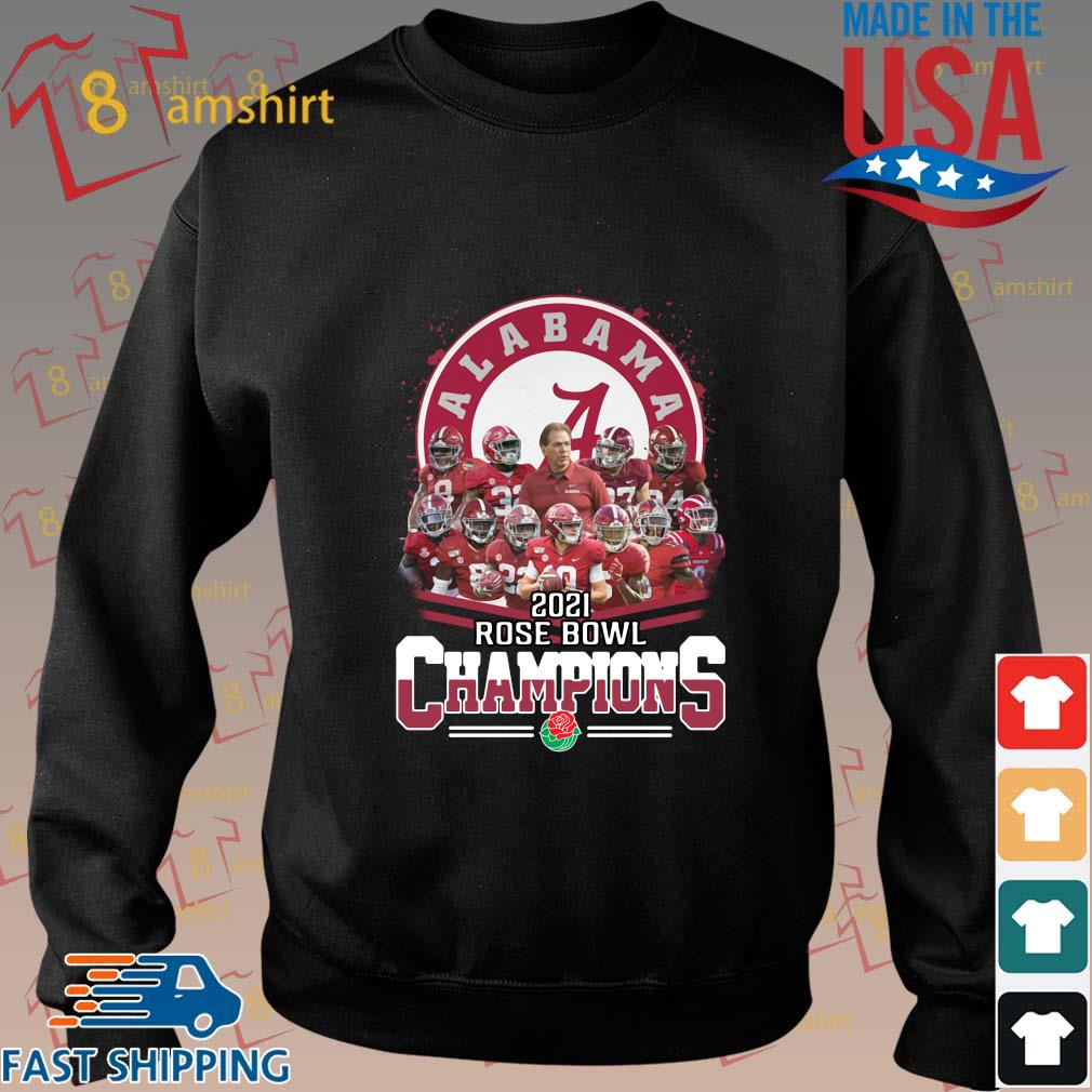 Alabama Crimson Tide 2021 Rose Bowl Champions shirt