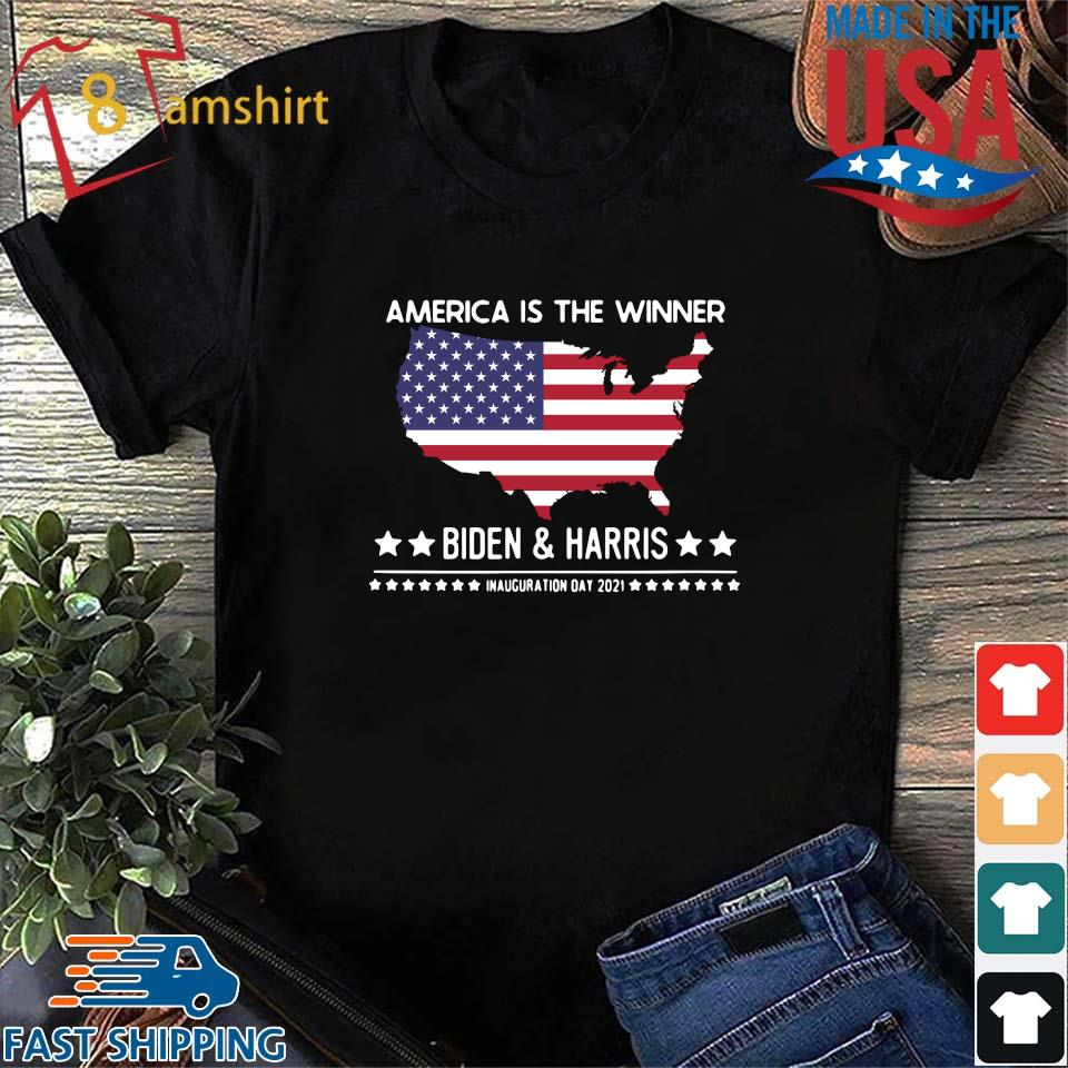 America is the winner Biden and Harris inauguration day 2021 s Shirt den