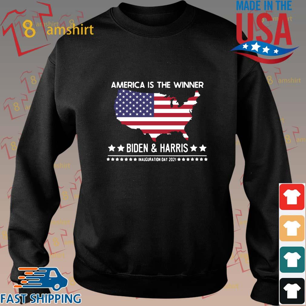 America is the winner Biden and Harris inauguration day 2021 shirt