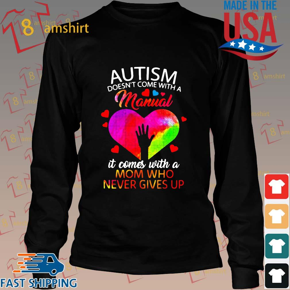 Autism doesn't come with a manual it comes with a mom who never gives up s Long den
