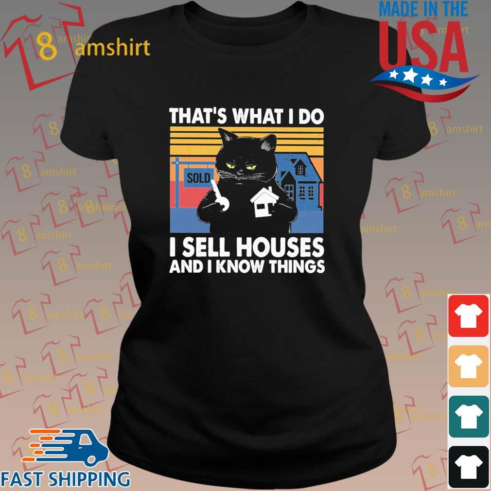 Black cat that's what I do I sell houses and I know things vintage s ladies den
