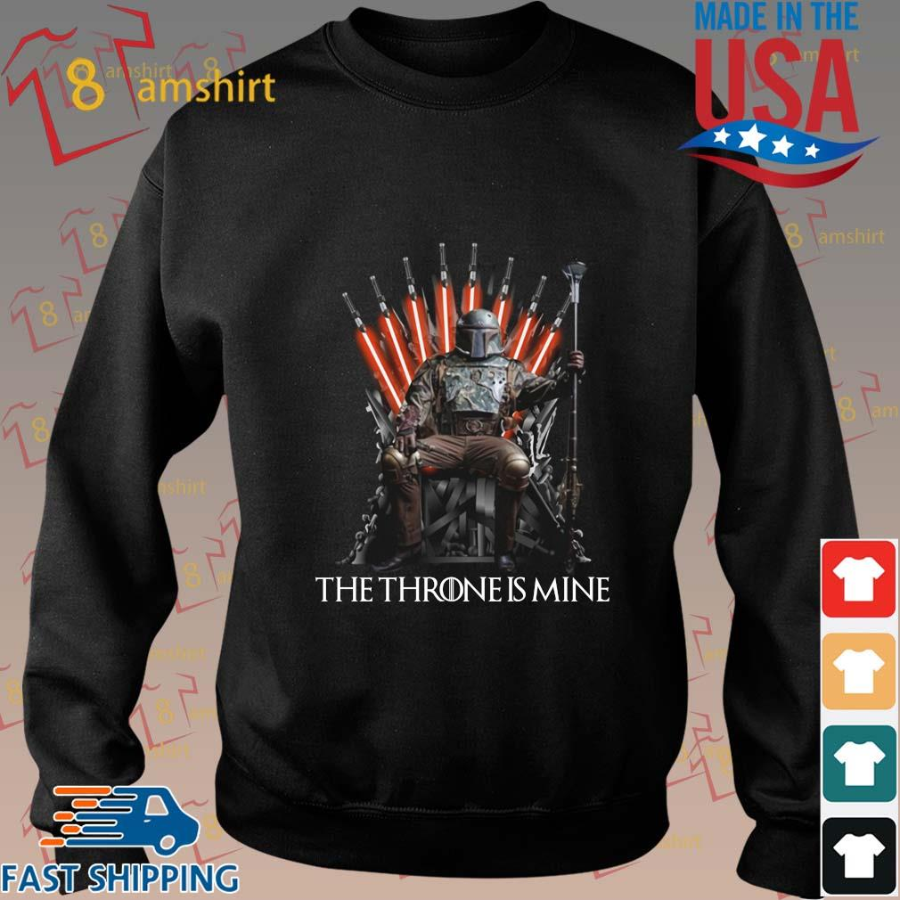 Boba Fett the throne is mine shirt