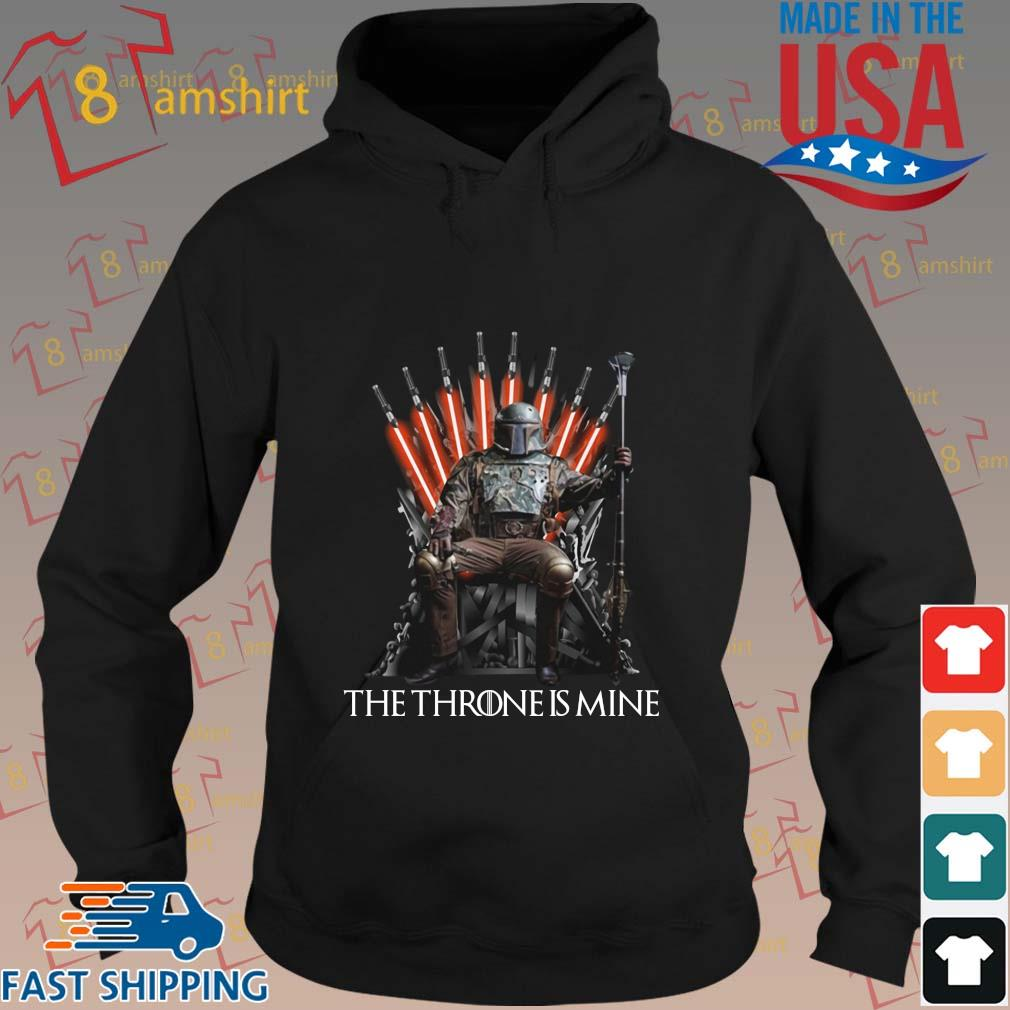 Boba Fett the throne is mine s hoodie den