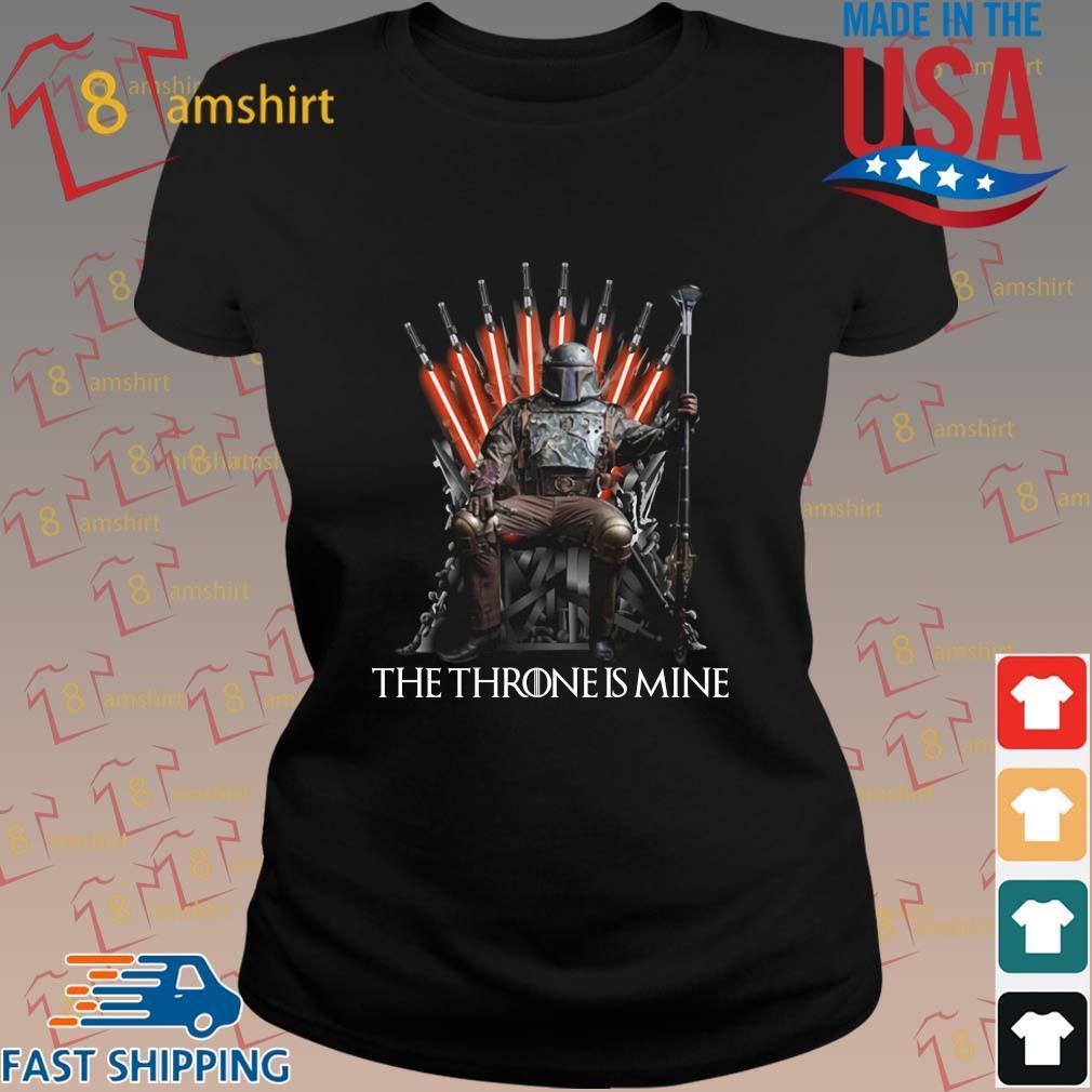 Boba Fett the throne is mine s ladies den