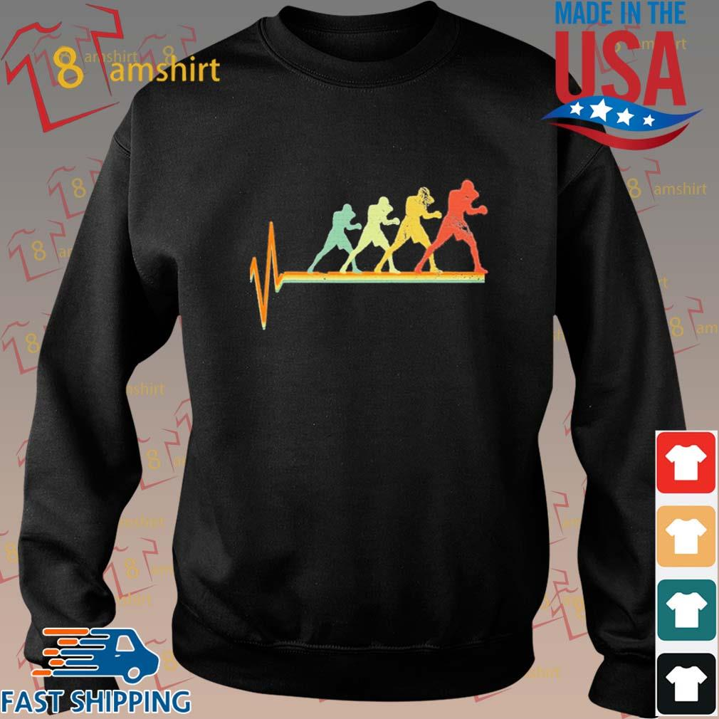 Boxing Heartbeat Vintage Shirt Sweater den