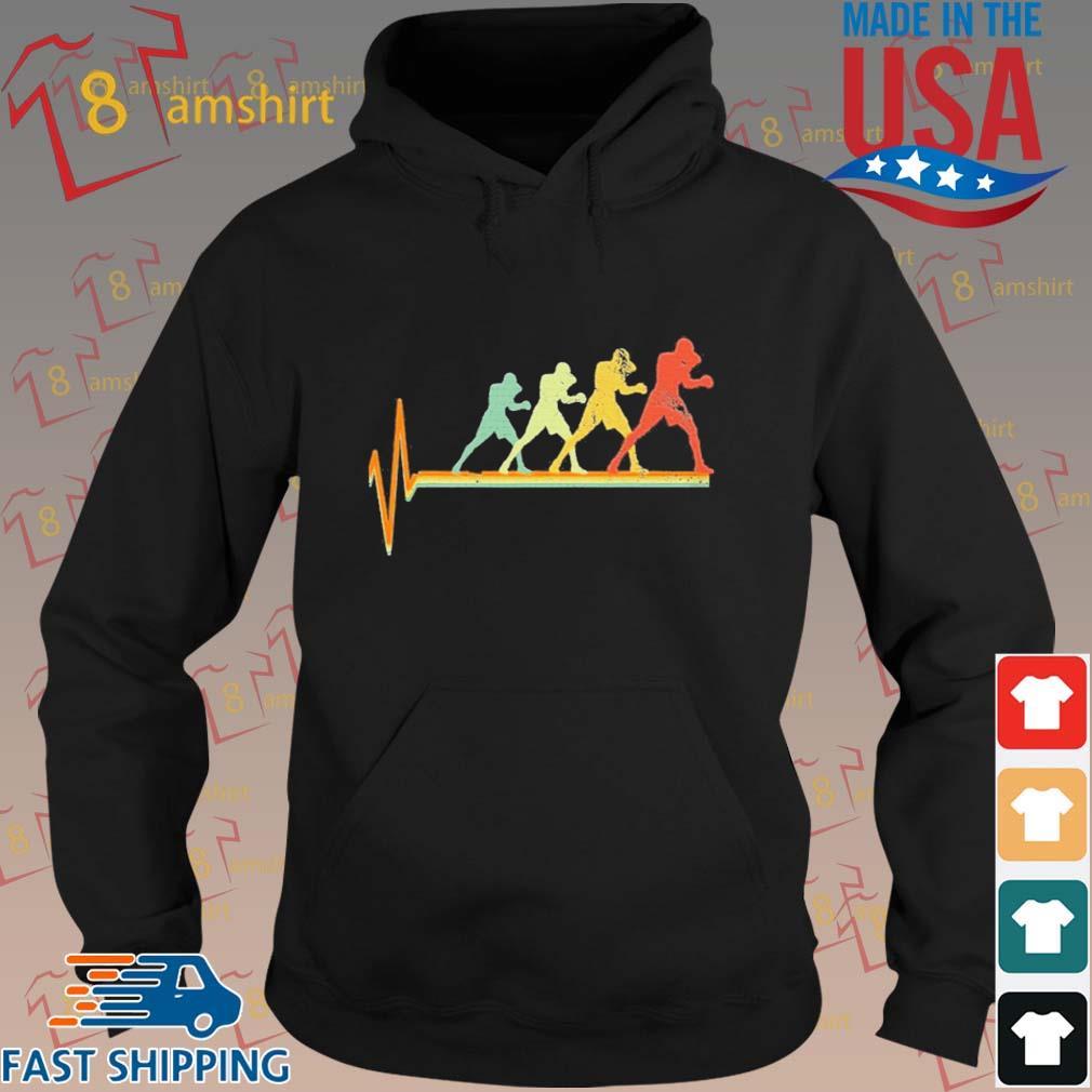 Boxing Heartbeat Vintage Shirt hoodie den