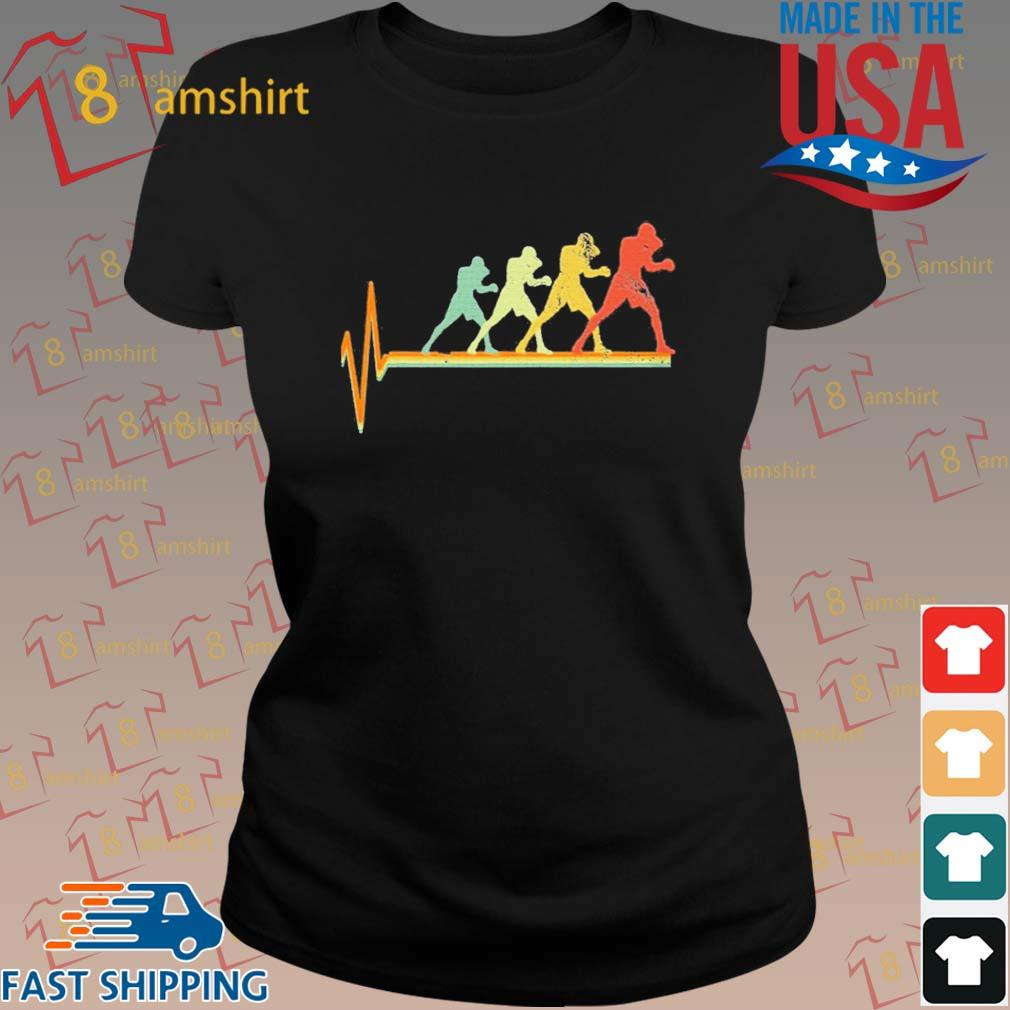 Boxing Heartbeat Vintage Shirt ladies den