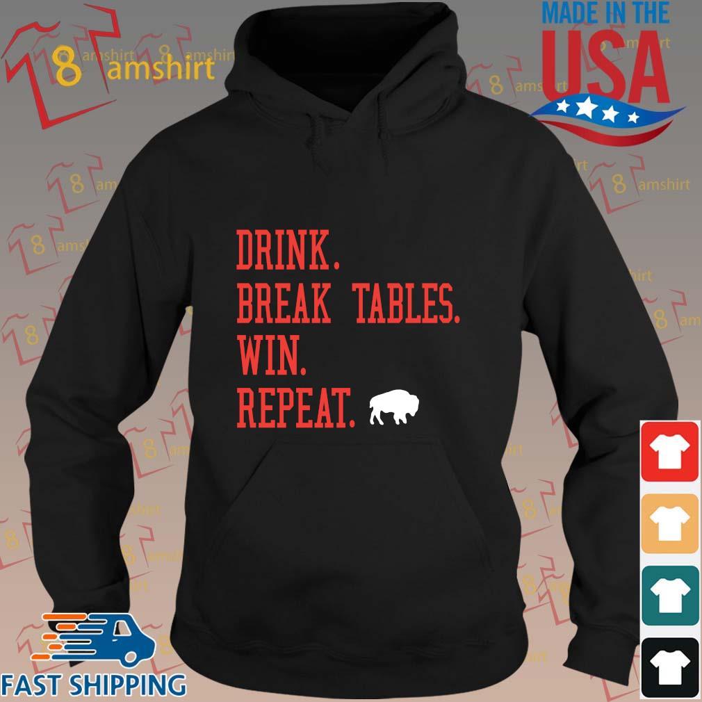 Buffalo Bills Drink Break Tables Win Repeat Shirts hoodie den