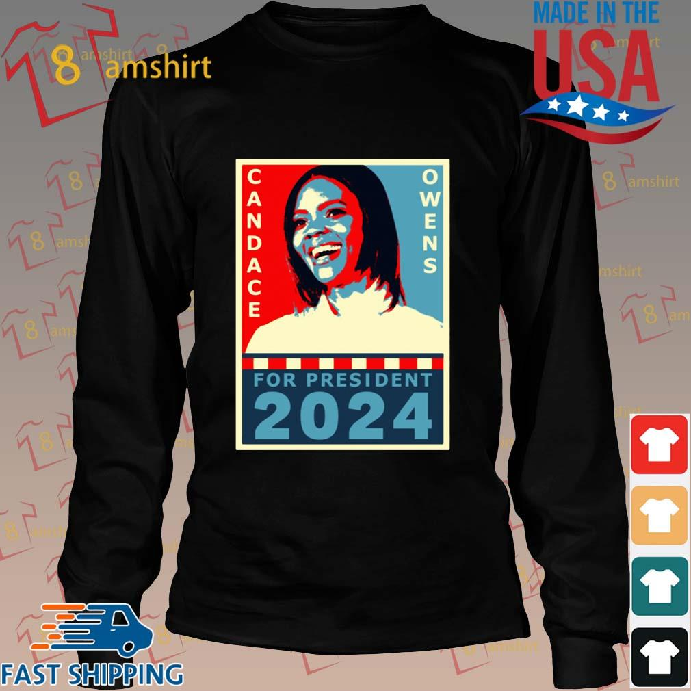 Candace Owens for President 2024 tee s Long den