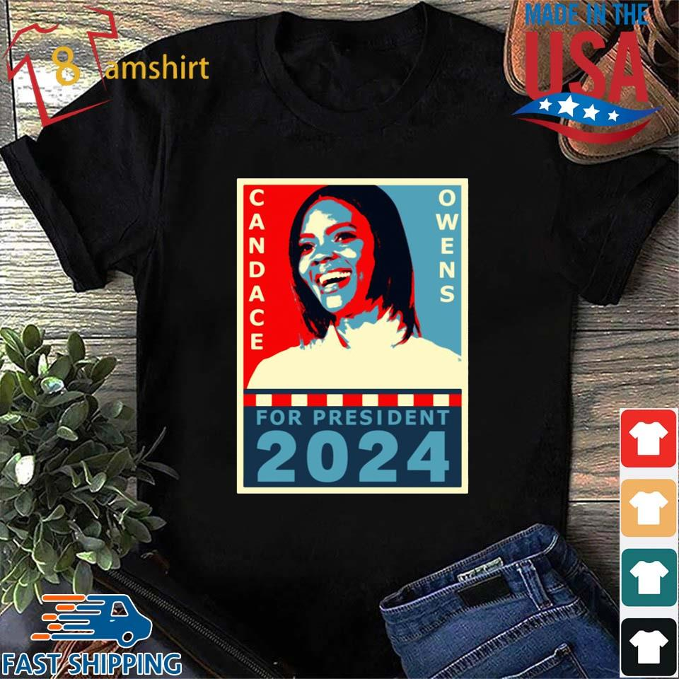 Candace Owens for President 2024 tee shirt
