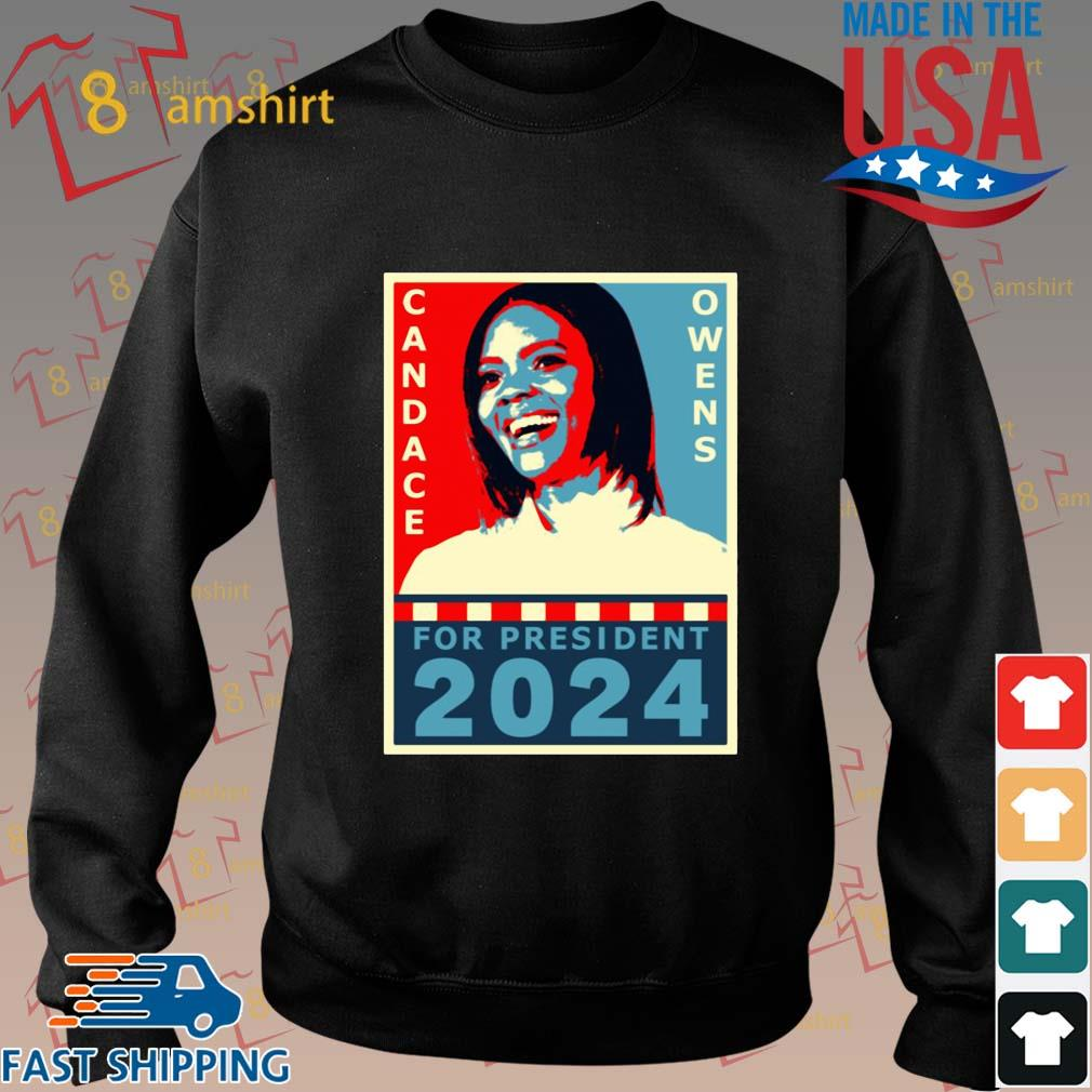 Candace Owens for President 2024 tee s Sweater den