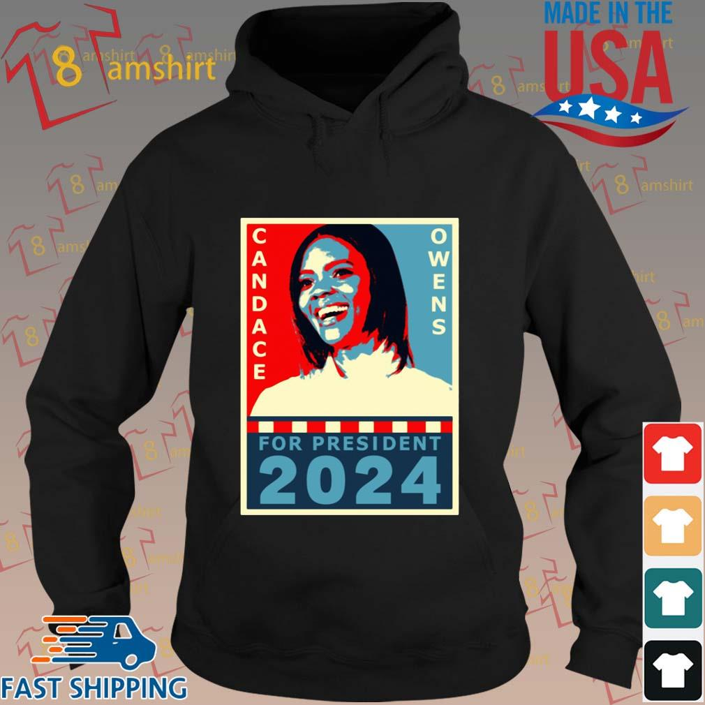 Candace Owens for President 2024 tee s hoodie den