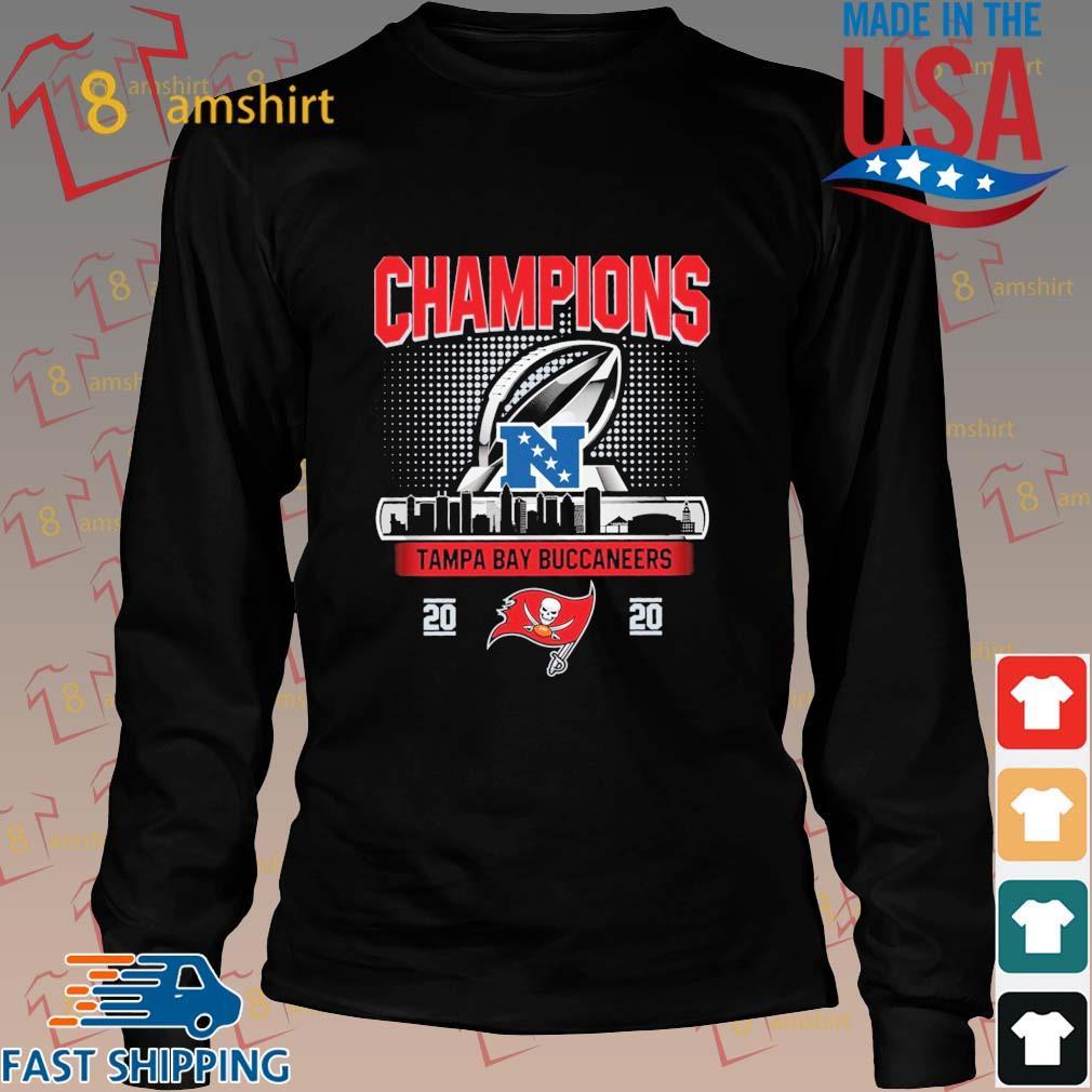 Champions Tampa Bay Buccaneers 2020 NFC Shirt Long den