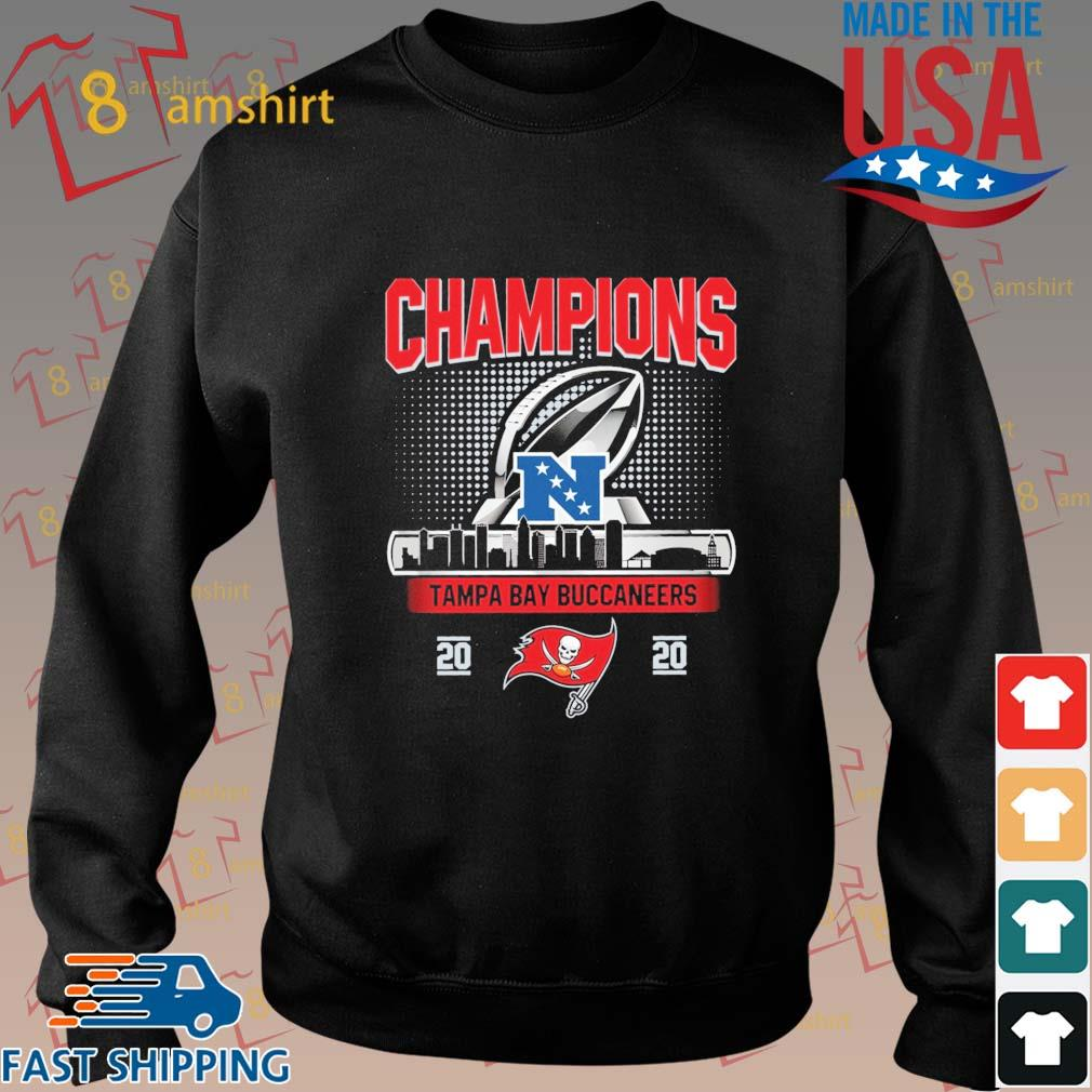 Champions Tampa Bay Buccaneers 2020 NFC Shirt Sweater den