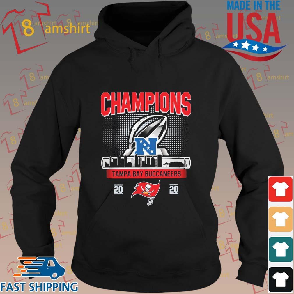 Champions Tampa Bay Buccaneers 2020 NFC Shirt hoodie den