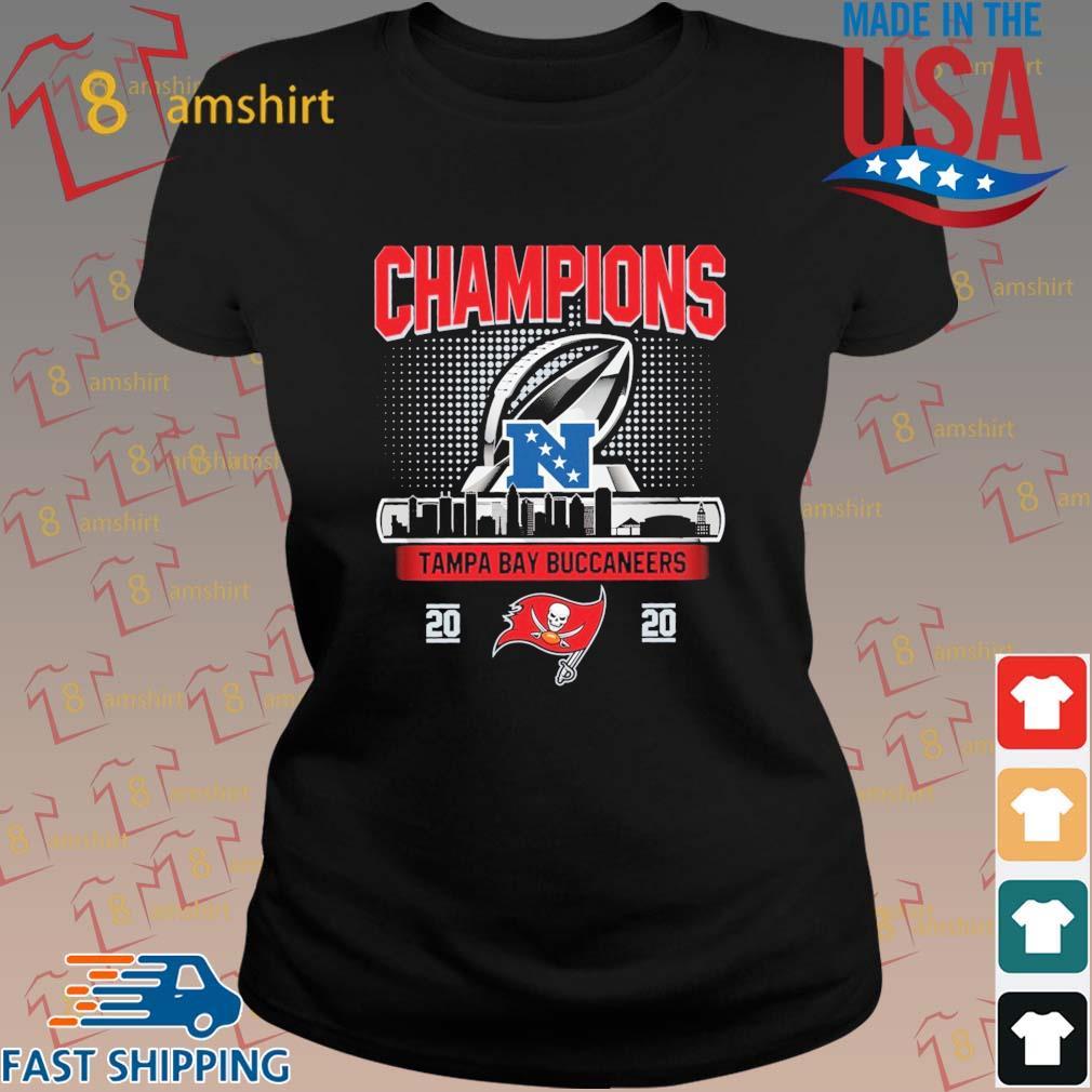 Champions Tampa Bay Buccaneers 2020 NFC Shirt ladies den