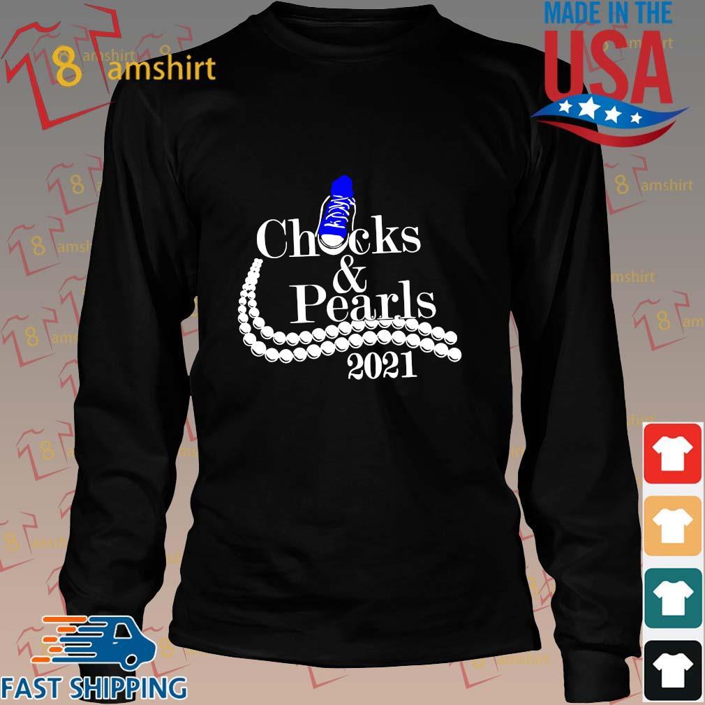 Chucks and pearls 2021 shirt, sweats Long den