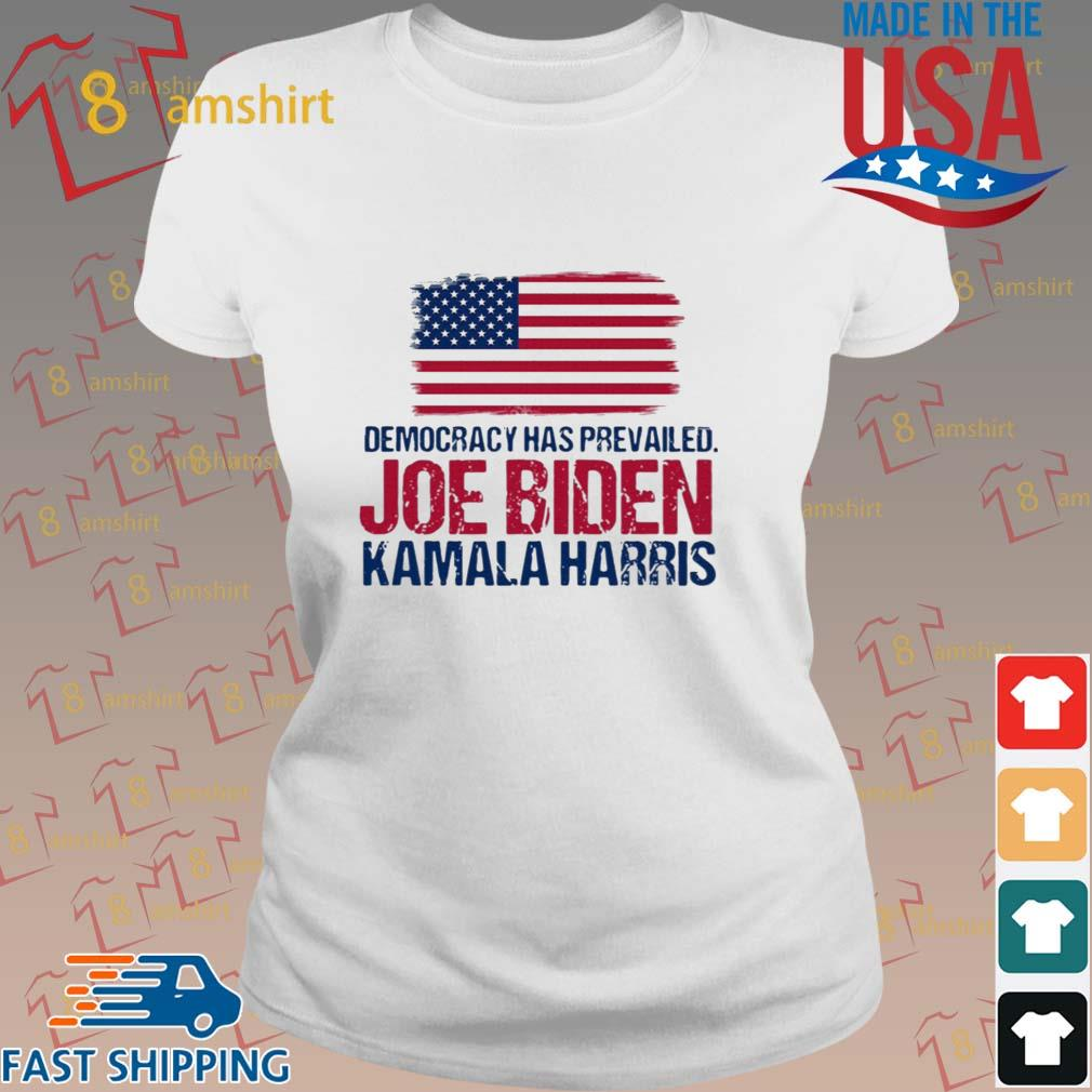 Democracy has prevailed Joe Biden Kamala harris hirt ladies trang