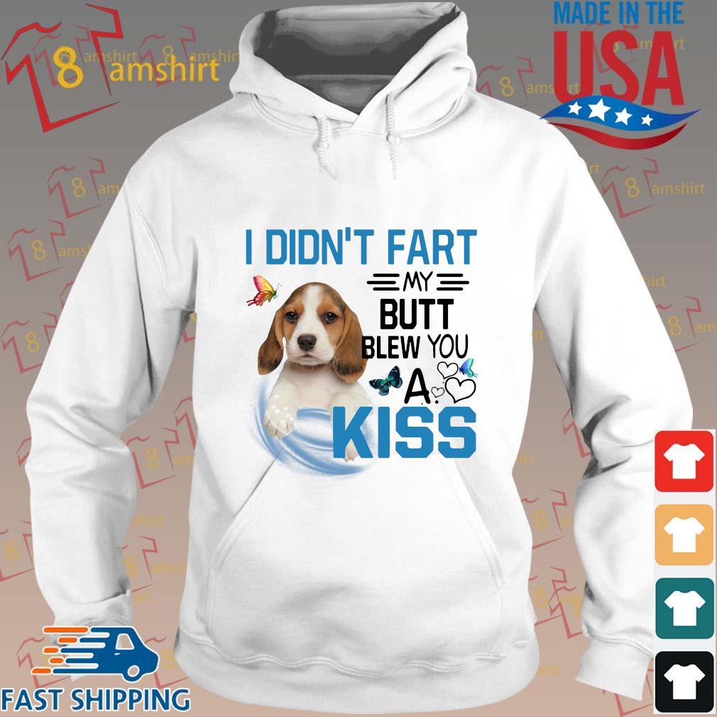 Dog I didn't fart my butt blew you a kiss s Hoodie trang