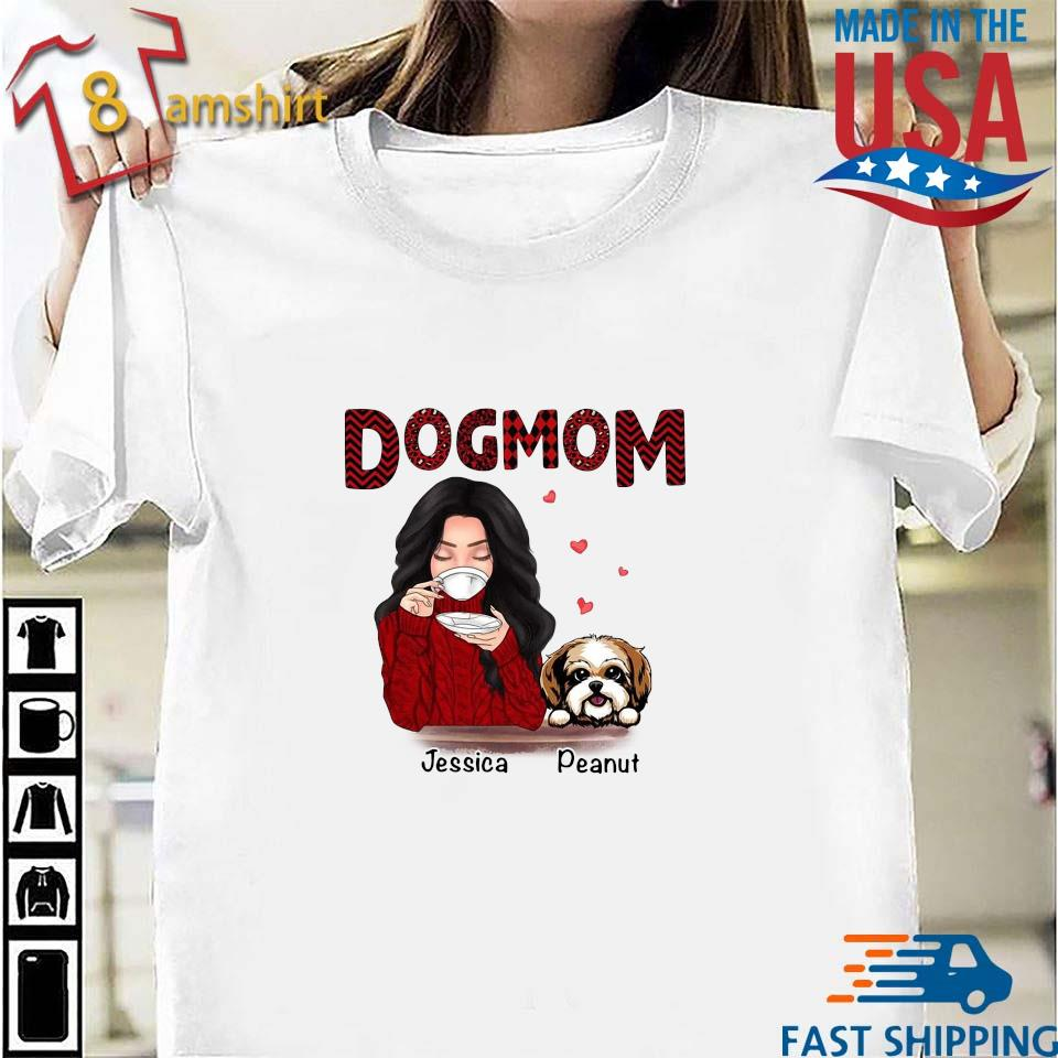 Dog mom Jessica Peanut shirt
