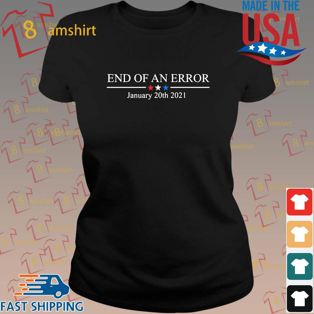 End of an error january 20th 2021 s ladies den