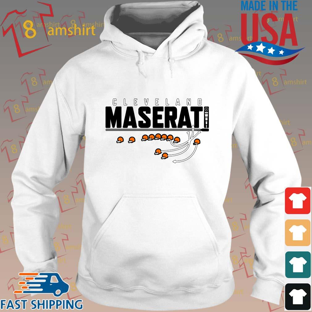 Funny Cleveland maserati s Hoodie trang