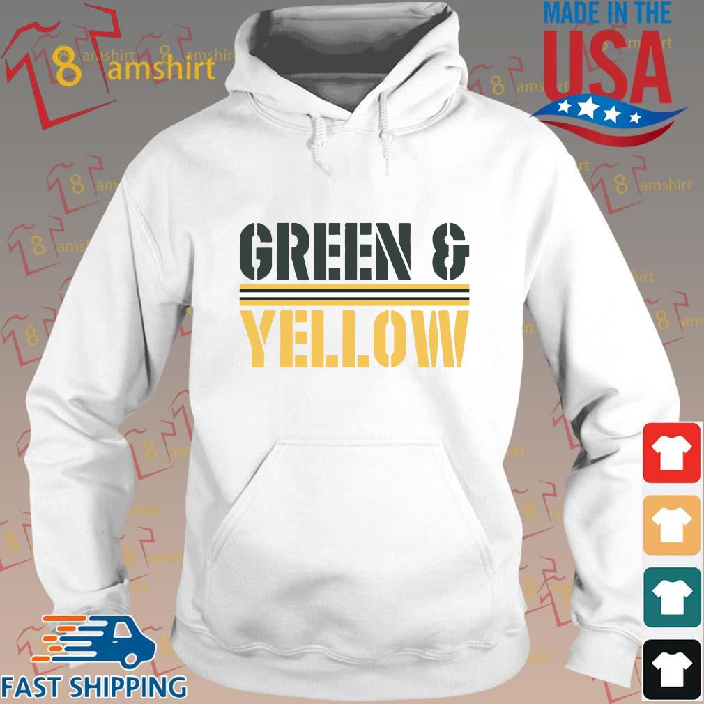 Green and Yellow s Hoodie trang