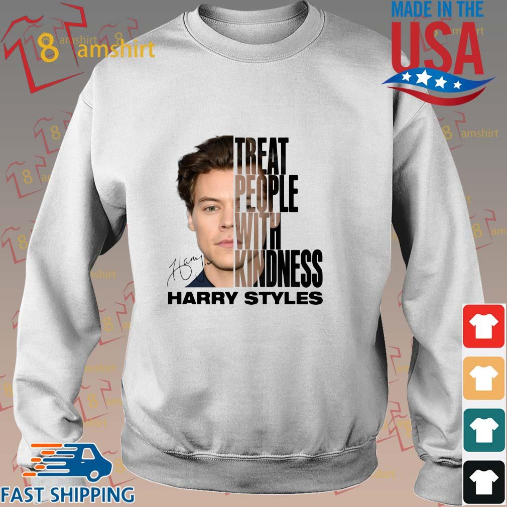 Harry Styles treat people with kindness signature shirt