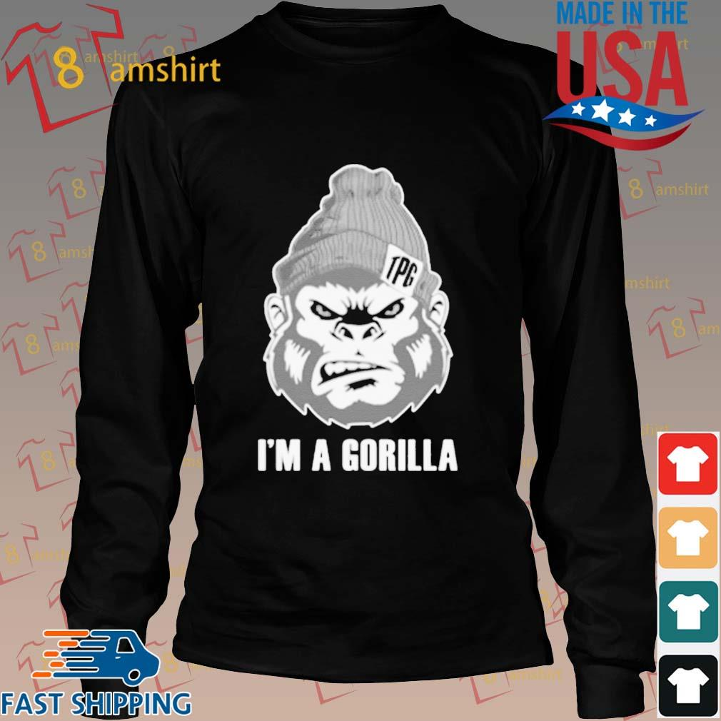 I Am A Gorilla T-Shirt Long den