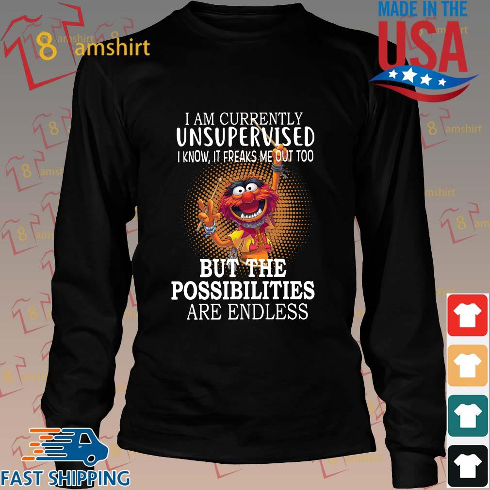 I am currently unsupervised I know it freaks Me out too but the possibilities are endless s Long den