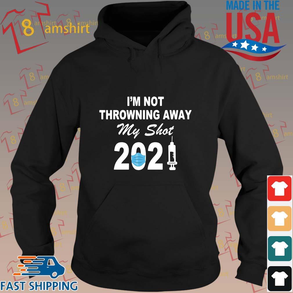 I'm not throwning away my shot 2021 face s hoodie den