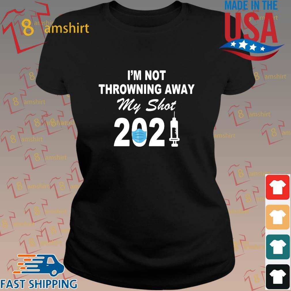 I'm not throwning away my shot 2021 face s ladies den