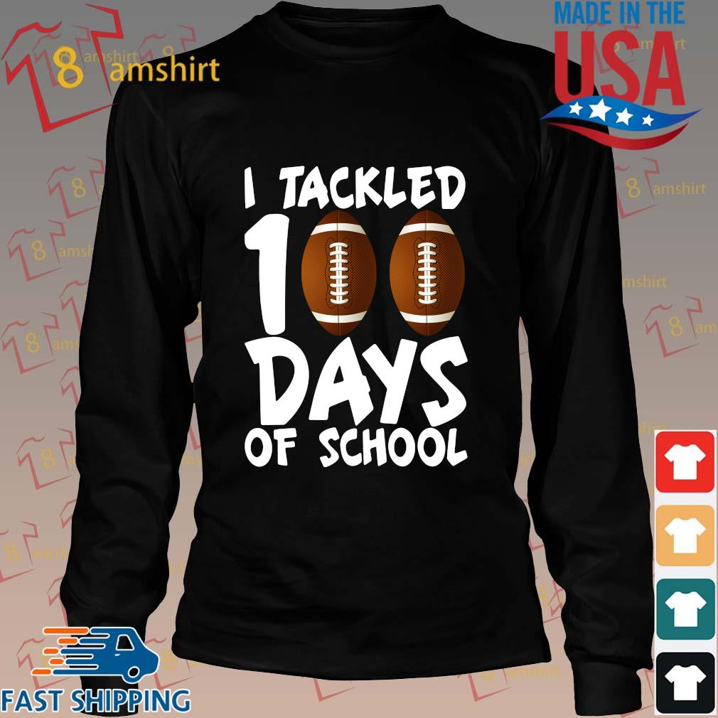 I tackled 100 days of school s Long den