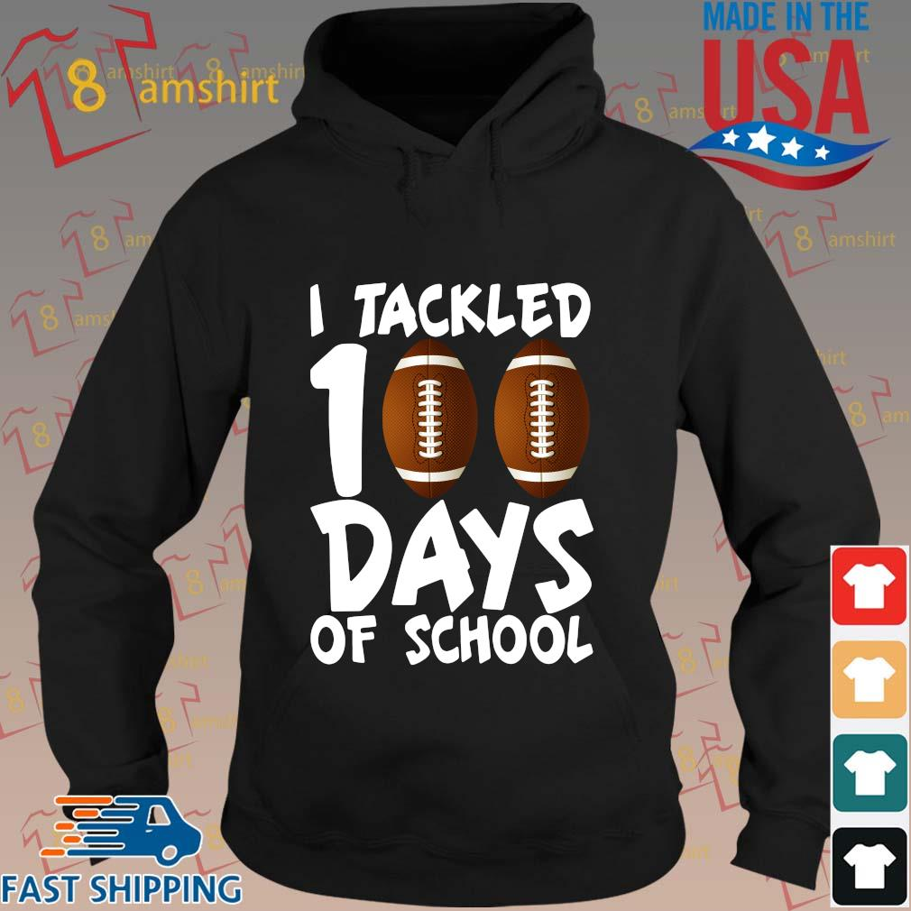 I tackled 100 days of school s hoodie den